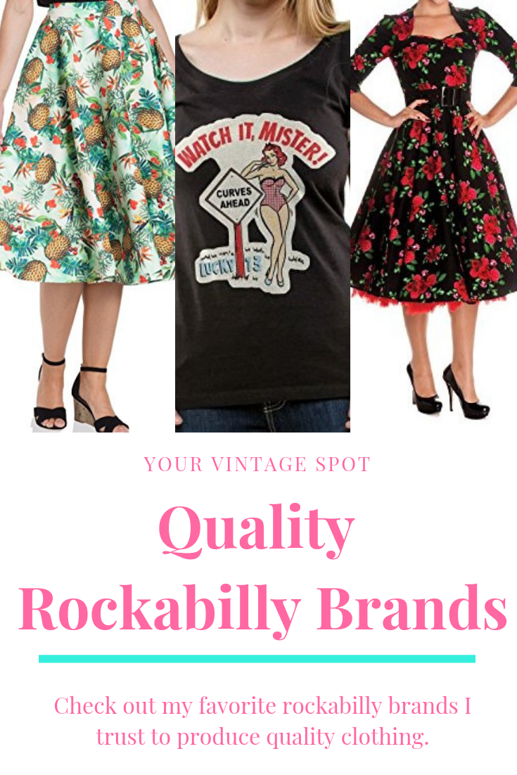 Quality Rockabilly Clothing Brands With Images Rockabilly Outfits Clothing Brand Clothes