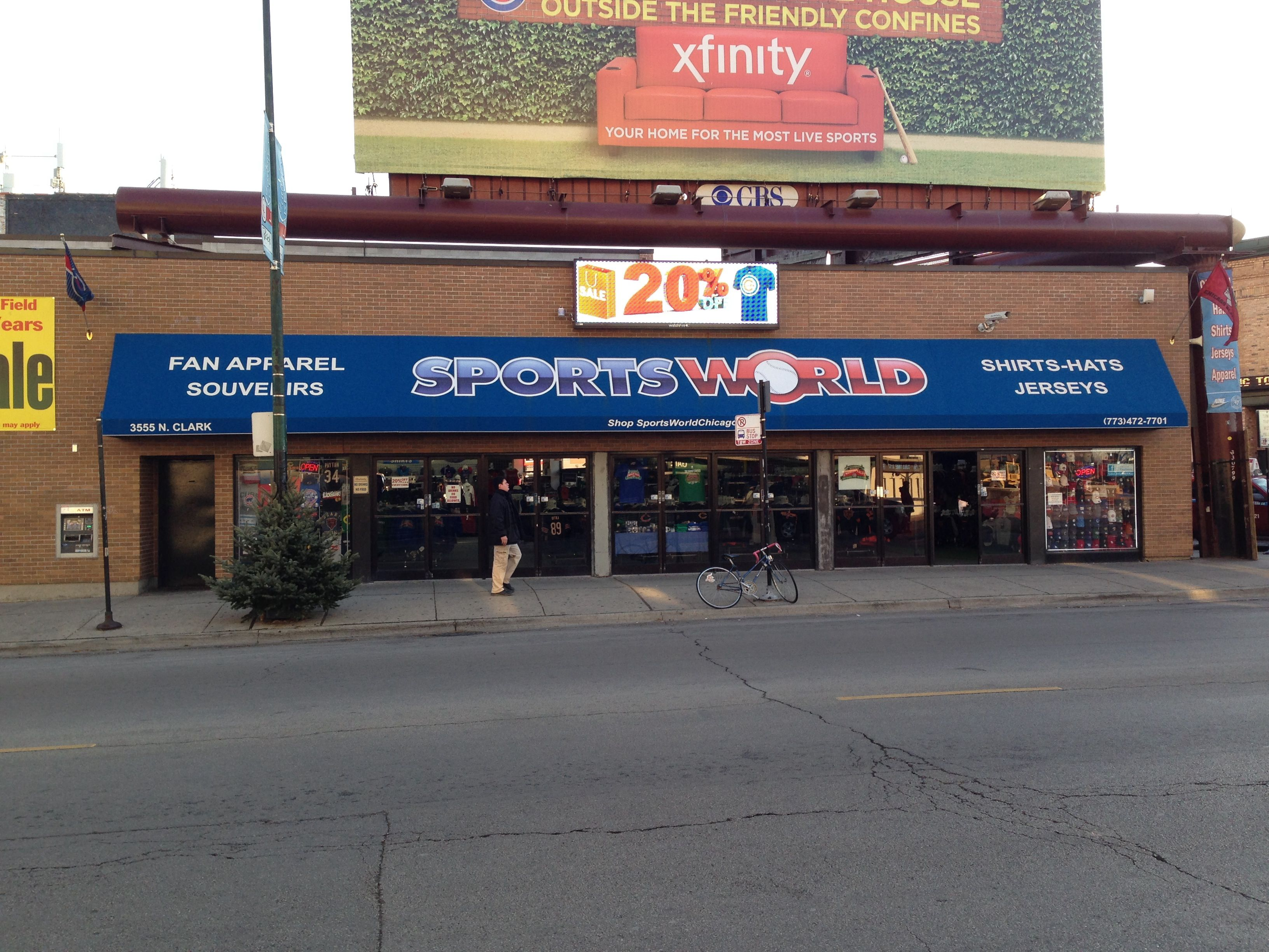 20 OFF in store Sale Today! Corner of Clark and Addison