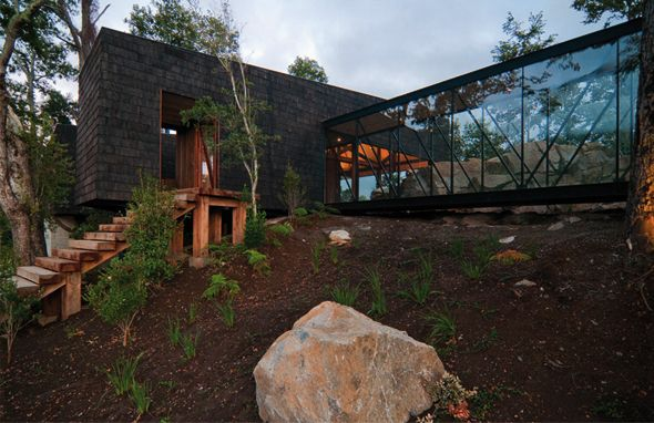 Ranco House par Elton+Leniz Architecture Pinterest - orientation maison sur terrain