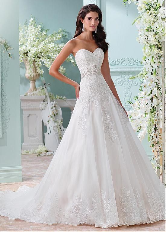 Image result for a-line wedding dresses | Strapless Wedding Dresses ...