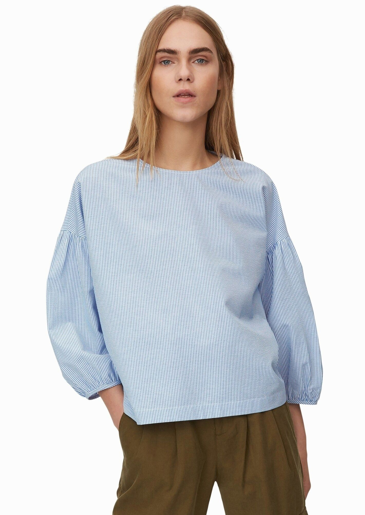 Marc O Polo Denim Bluse Damen Llblau Osse M In 2020 Fashion Denim Polo