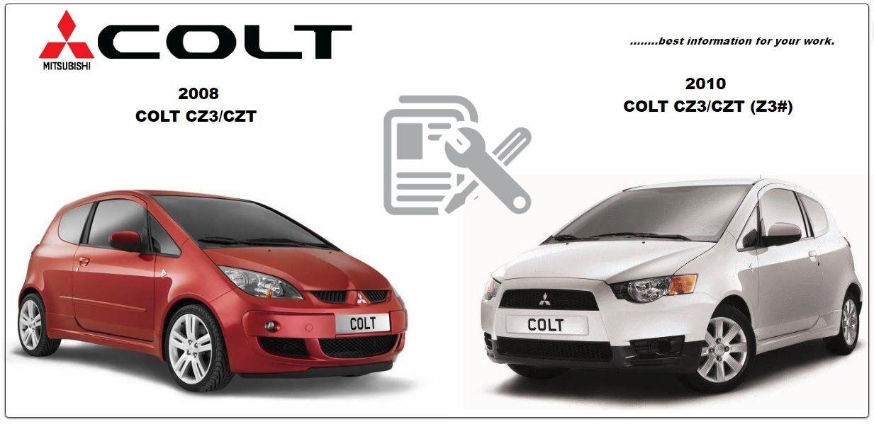 mitsubishi colt 2008 2011 repair service manual mitsubishi colt rh pinterest com mitsubishi colt 2008 workshop service manual 2008 Mitsubishi Colt