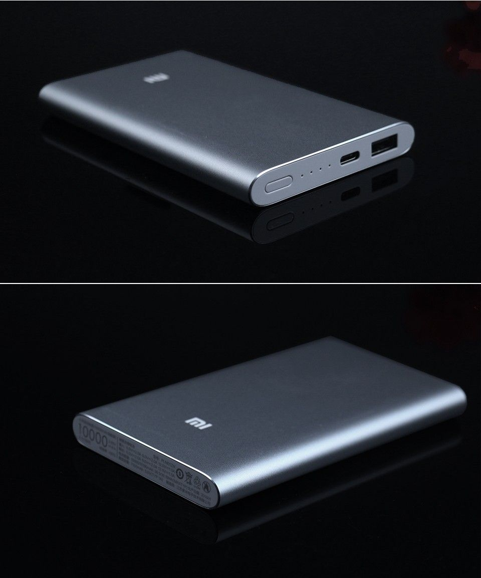 Fast Charge Type C 100 High Configure Original Xiaomi Power Bank Powerbank 10000mah 10000 Mah Bateria Externa For Iphone 66s Plusxiaomi Powerbankforiphones