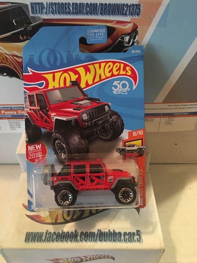 2018 Hot Wheels 17 Jeep Wrangler Hw Hot Trucks New For 2018