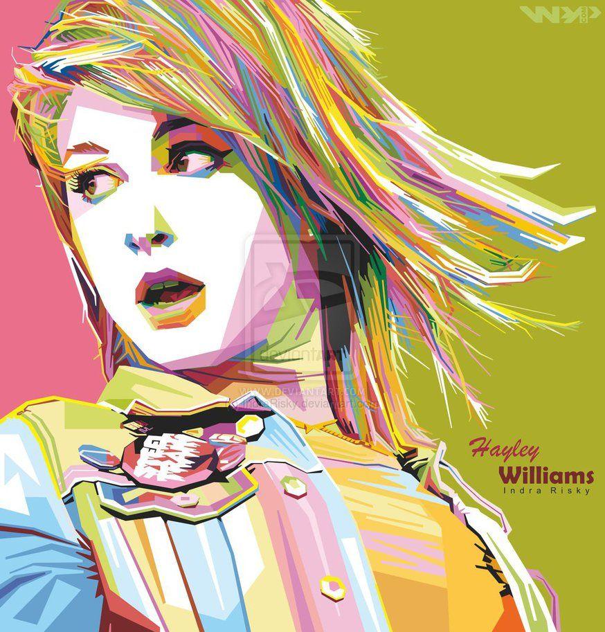 hayley_williams_in_wpap__wedha_s_pop_art_potrait__by_indrarisky-d72dzhd.jpg (JPEG Image, 874×913 pixels)