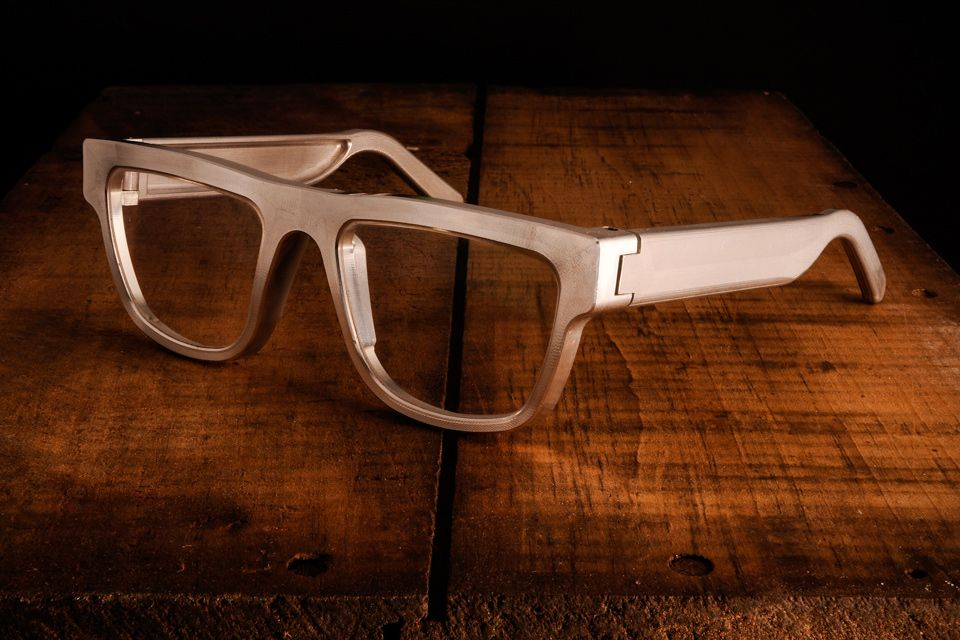 3ed38869ef6 Exovault Aluminum Eyeglasses - these specs look completely bomb proof.