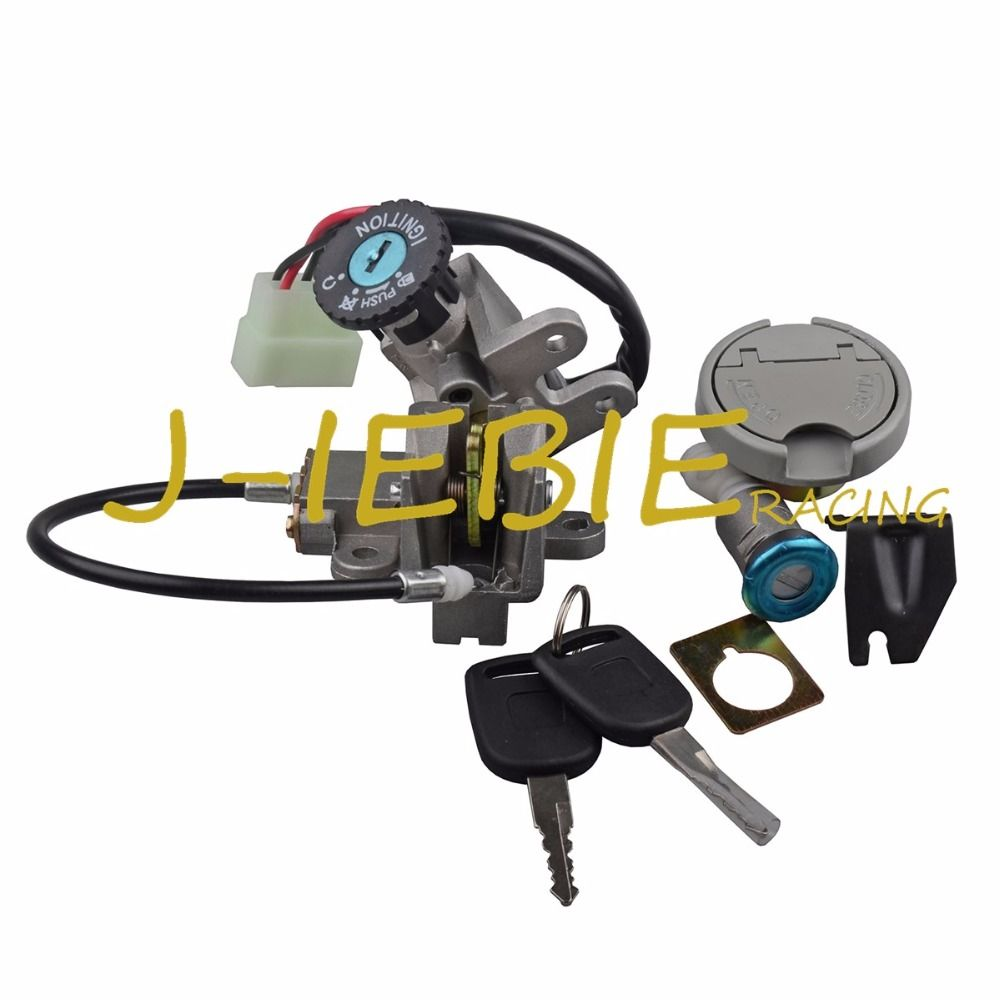 Ignition Switch Seat Gas Cap Lock For LIFAN PONY 50 TAOTAO