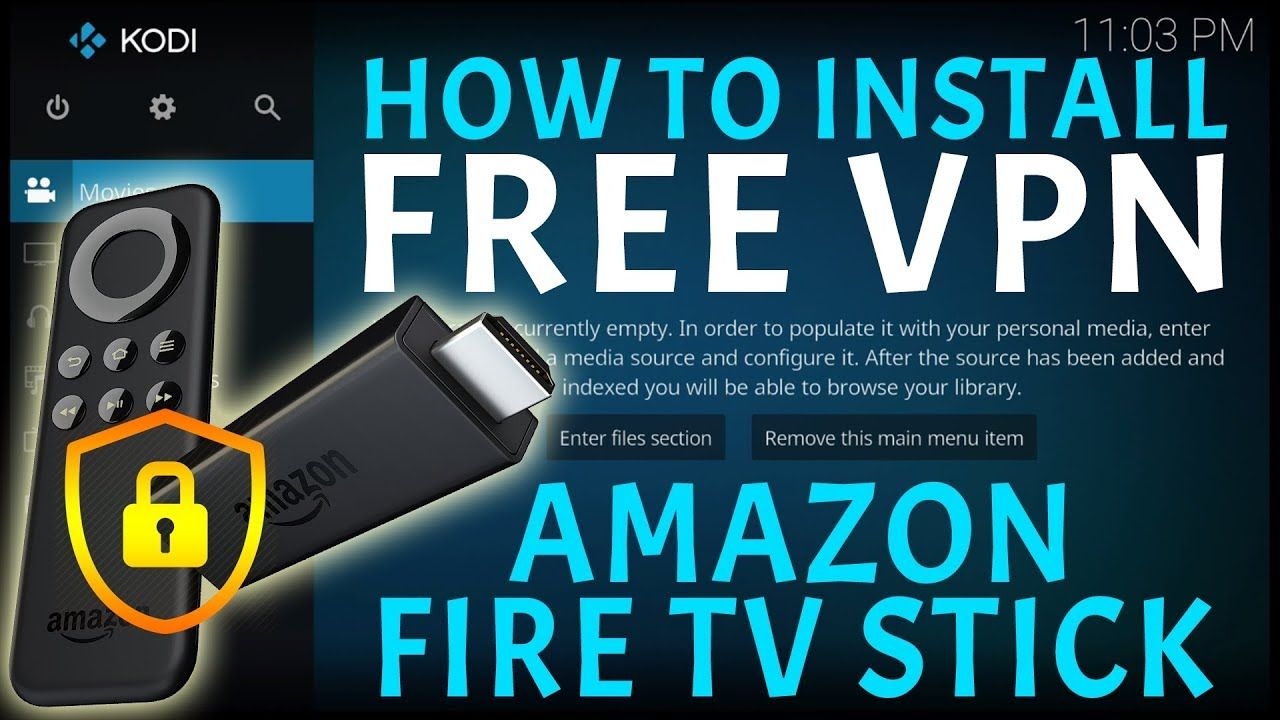 HOW TO INSTALL A FREE VPN FOR KODI ON THE AMAZON FIRESTICK!! TOTALLY