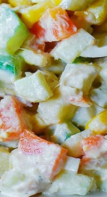 Potato Salad with Tuna #olivierrussischersalat