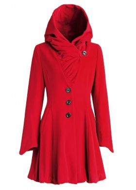 Alvy 2019RotFarben – Fashion Red Fend Coat In Erich 0w8nXOPk