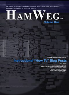 This Week on the HamWeg Blog we shared our favorite Yummy Recipes, reviewed a trusted OS X tool, Quick Look, examined 3 books for our Card Catalog Section and more ...