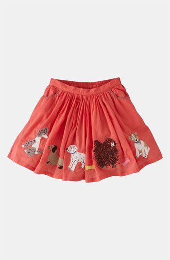 204c2f09e Mini Boden Embroidered Skirt (Toddler, Little Girls & Big Girls)   Nordstrom