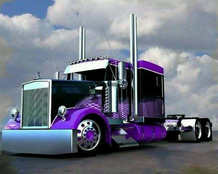 Nice Rig ... love the colour scheme! | Big trucks, Big rig ...