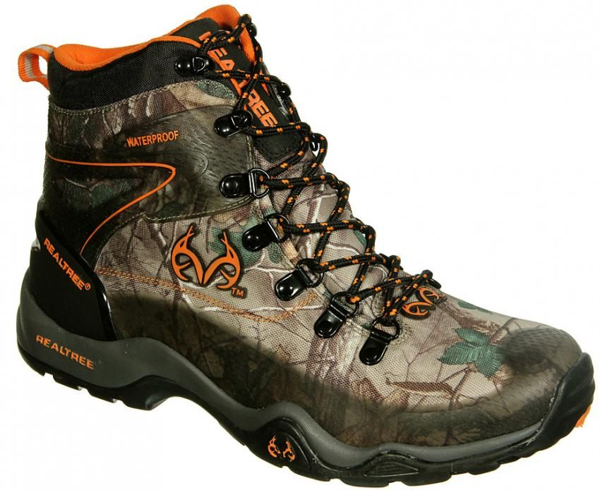 68497bb5873 Realtree Camo Ridge Xtra Black Orange shoes | Realtree Camo Shoes in ...