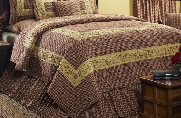 Country Quilted Bedding Collections From Ihf Country Bedding