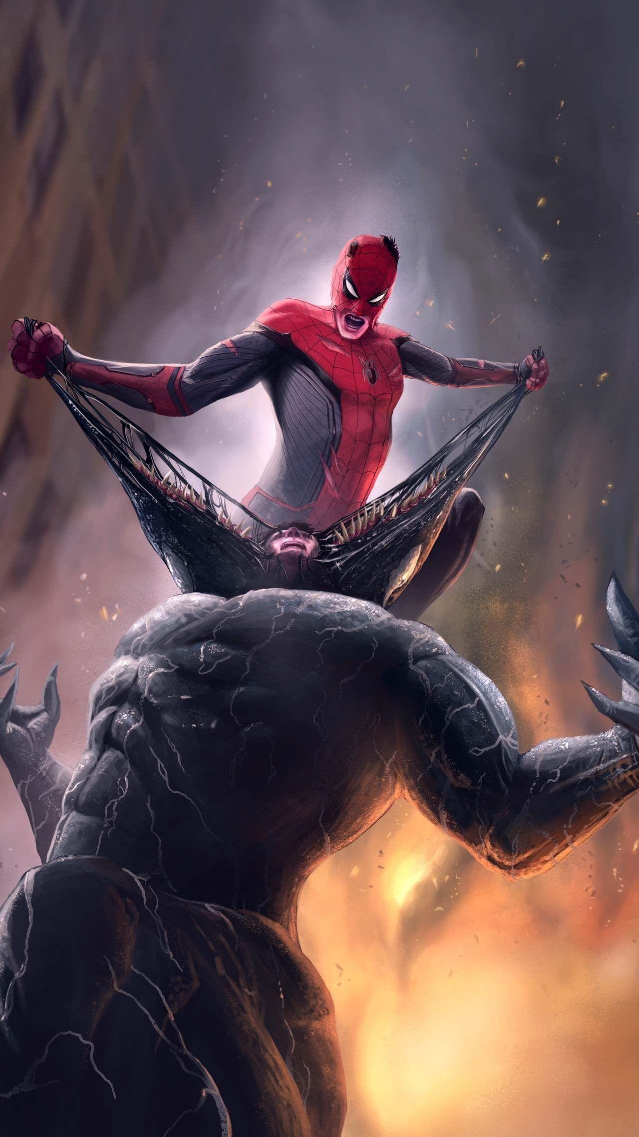 Film Review Spider Man Into The Spider Verse Strange Harbors Mobile Wallpaper Spiderman Marvel Comics Art