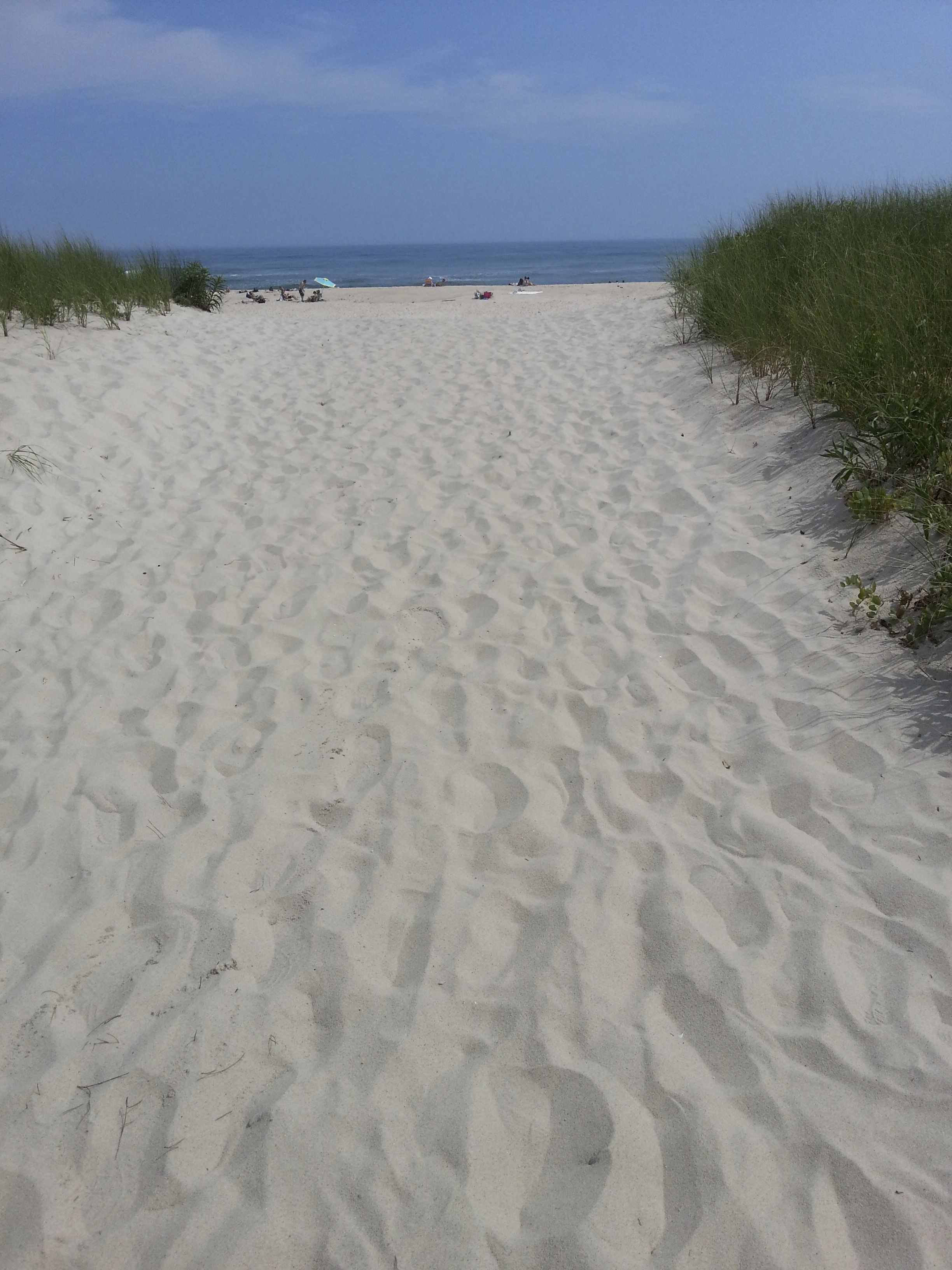 Atlantic Ocean Summer Southampton New York Long Island Ny