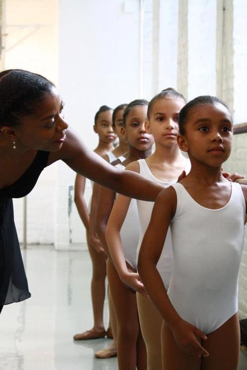 black teen dancing