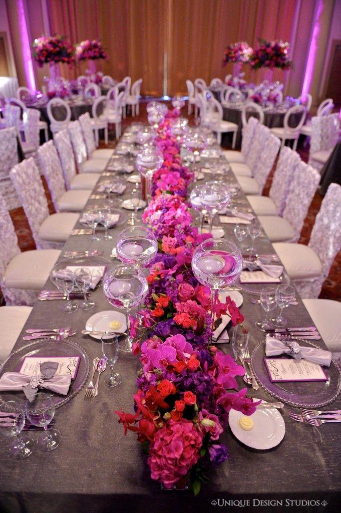 ideas decoración boda violeta, morado, lila Índigo Bodas y Eventos www.indigobodasyeventos.com