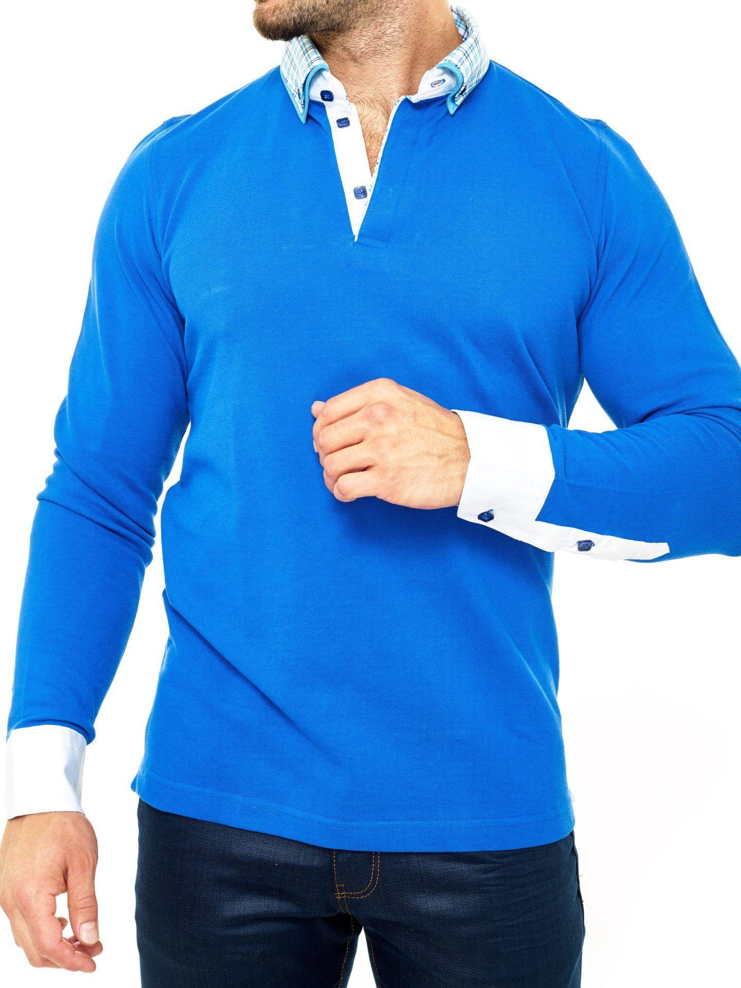 922ef46f4 hot royal bleu polo shirts long sleeve 00c65 9951a