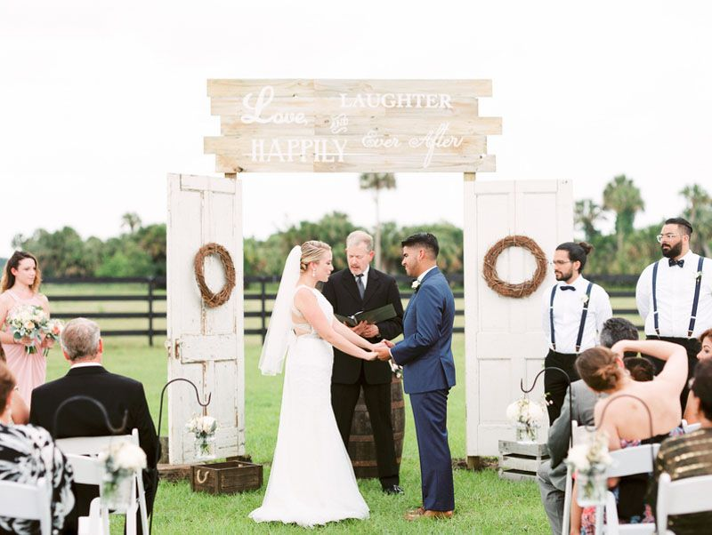 Elegant Rustic Wedding At Sterling Stables Rustic Wedding Photos