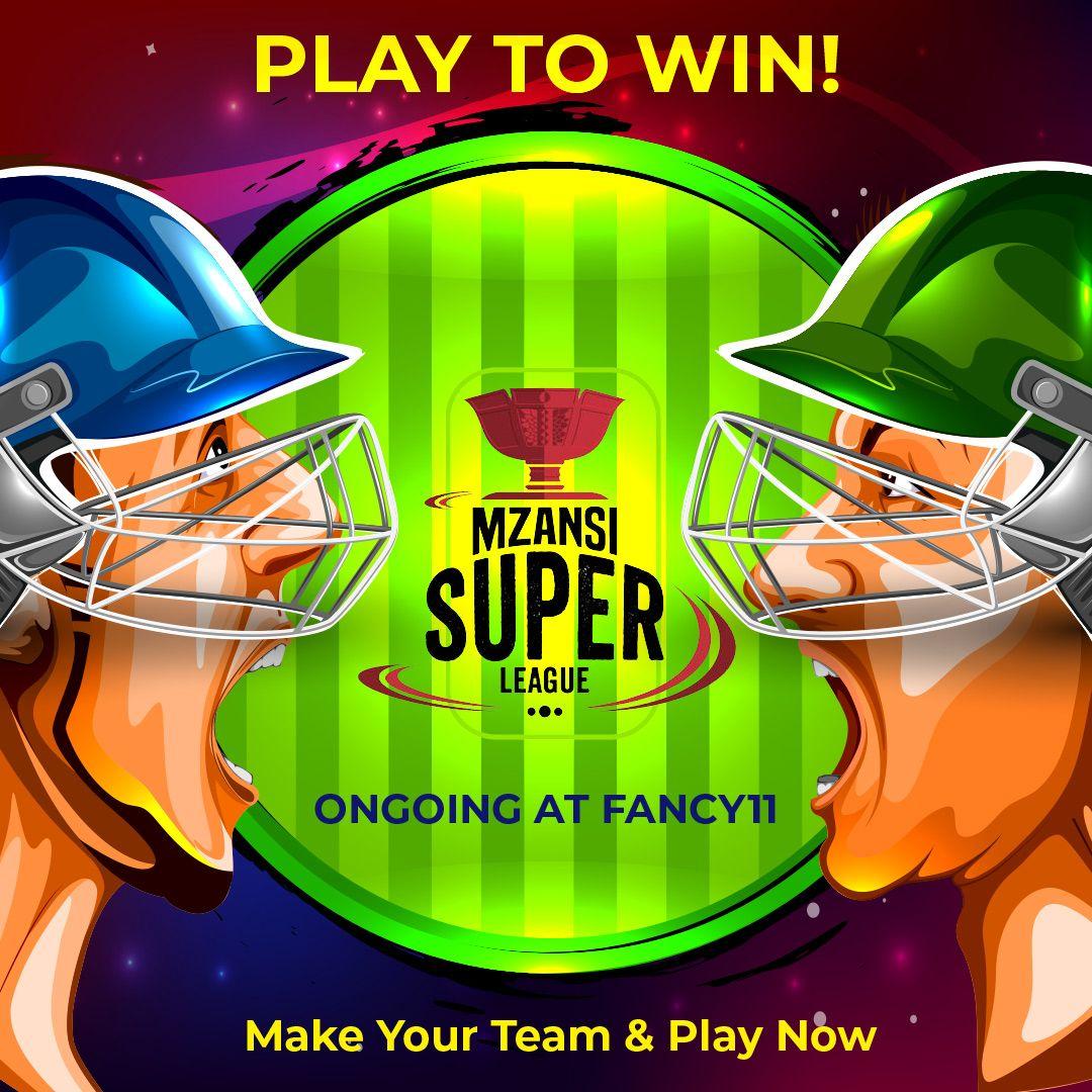 Mzansi Super League Sports app, matches, Cricket