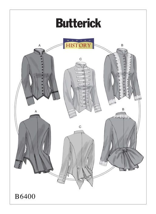 Butterick sewing pattern by historic clothing specialist Nancy ...
