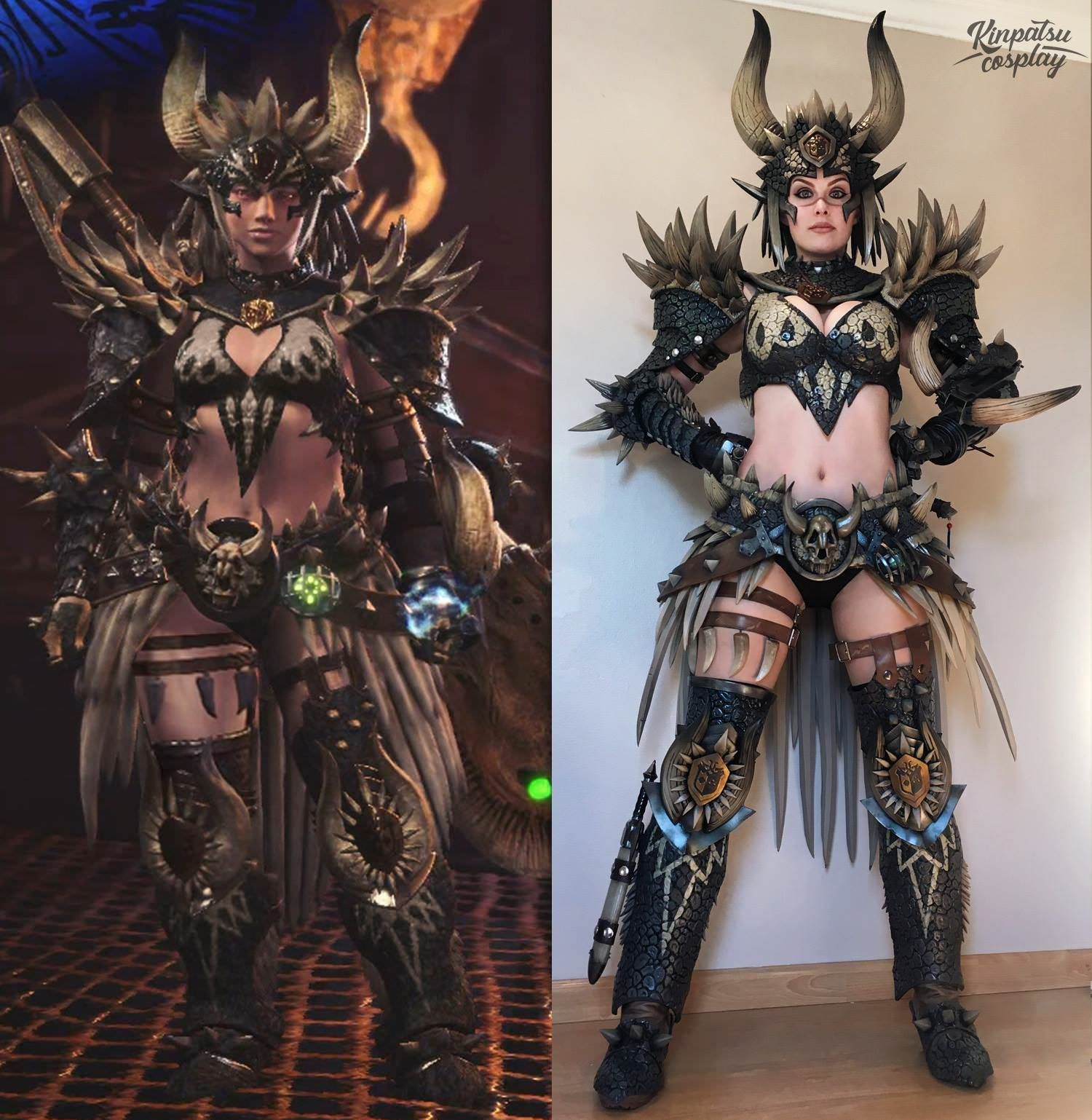 Nergigante Armor Set By Kinpatsu Cosplay Monster Hunter World