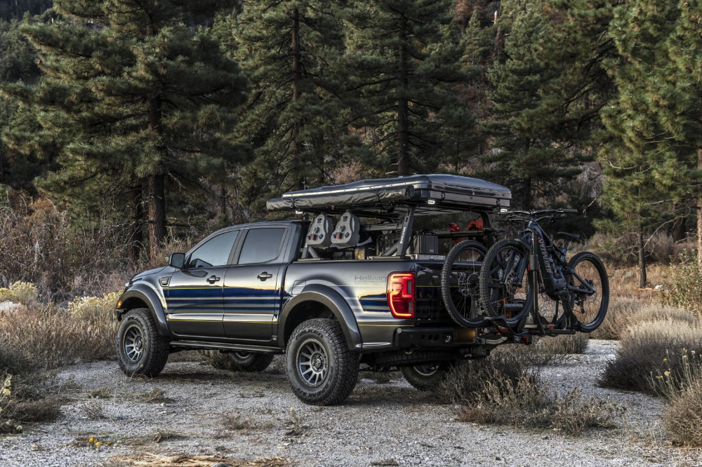 "Ford Ranger pickup camper makes horizonless adventure ""attainable"""