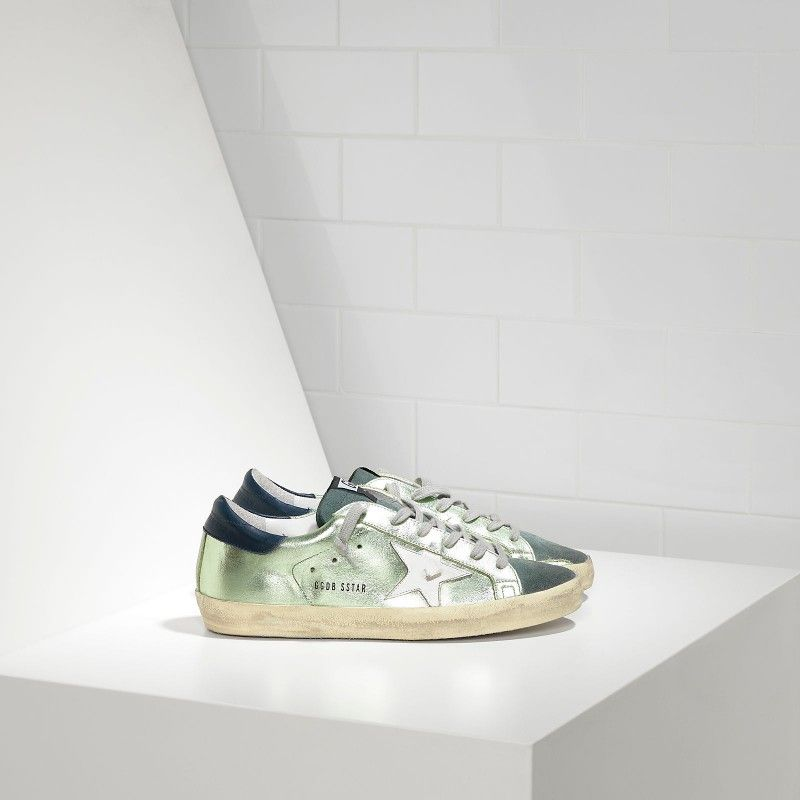 Golden Goose Super Star Sneakers In Leather With Leather Star Women - Golden… #goldengoose #superstar #sneaker #leather #fashion #streetstyle