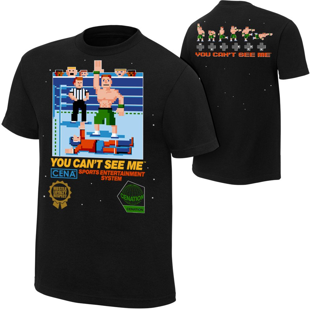 <p>Celebrate the 10th Anniversary of The Cenation with this commemorative John Cena Limited Edition re-released Authentic T-Shirt!</p><p>