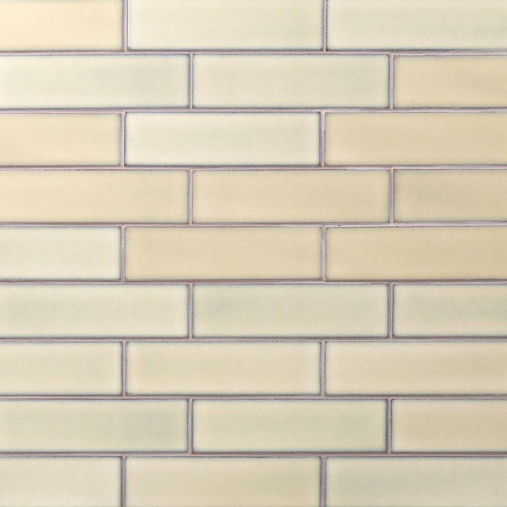 Ivy Hill Tile Vintage Khaki 3 In X 9 In X 10 Mm Ceramic Wall Mosaic Tile 20 Pieces 3 12 Sq Ft Box Ext3rd104640 Tiles Subway Tile Ceramic Subway Tile