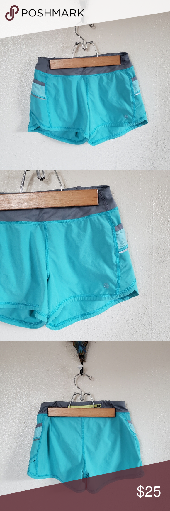 Athleta Girl Light Blue & Grey Shorts In great condition No rips or stains Has liner inside Athleta Bottoms Shorts #lightblueshorts Athleta Girl Light Blue & Grey Shorts In great condition No rips or stains Has liner inside Athleta Bottoms Shorts #lightblueshorts