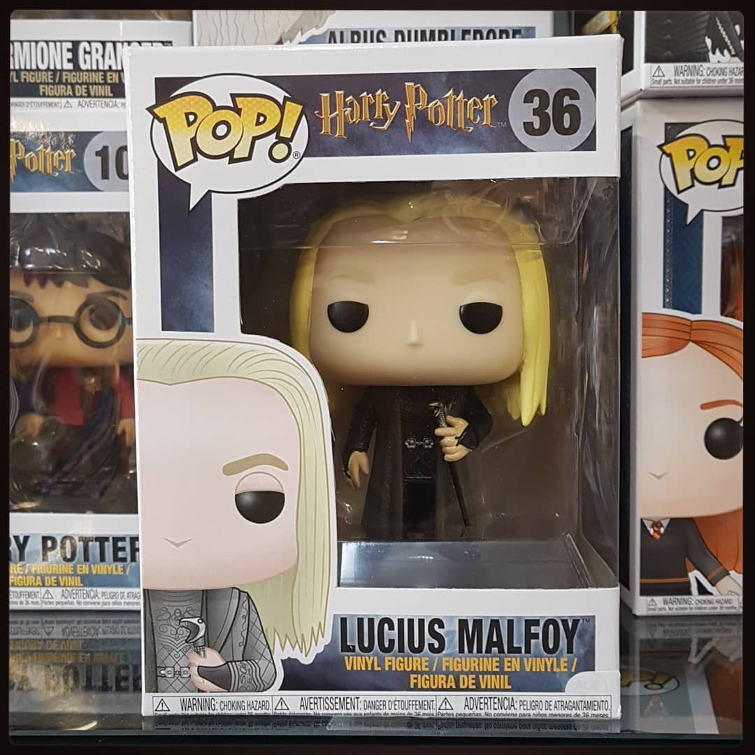 Harry Potter Funko Pop Back Instock Lucius Malfoy Pop Figure Funkopopcy Funko Cyprus Li Harry Potter Funko Pop Harry Potter Funko Lucius Malfoy