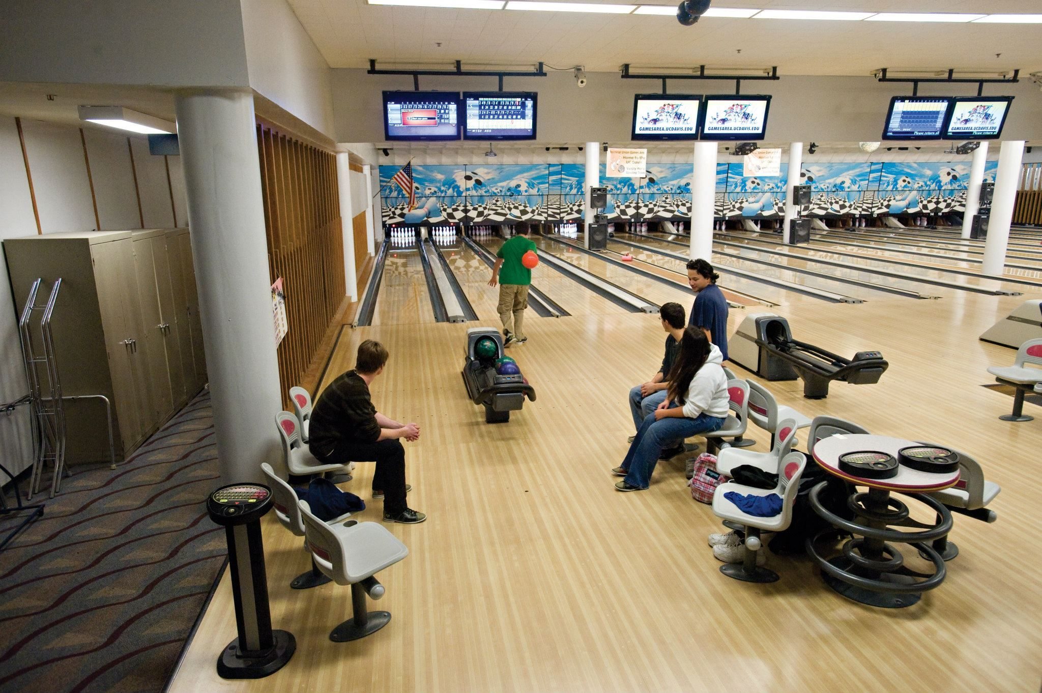 10 Bowling UC Davis is home to the only bowling alley in the city