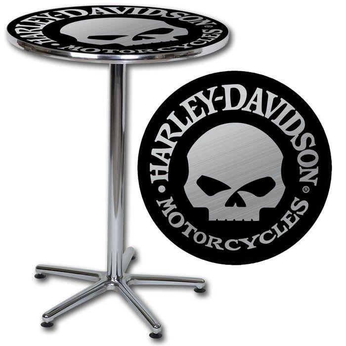 Harley Davidson 174 Skull Cafe Table Http Www Bikerathome