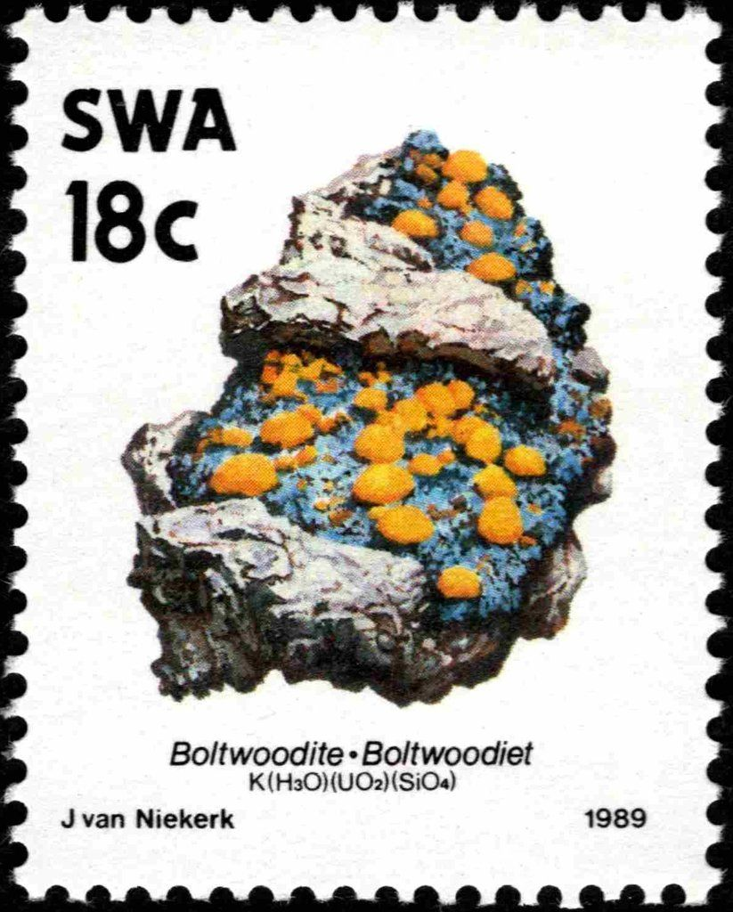 Stamp Boltwoodiet South West Africa Minerals Mi Na Sw 654i Sn Na Sw 631 Yt Na Sw 611 Africa Africa Sunset Africa Holiday