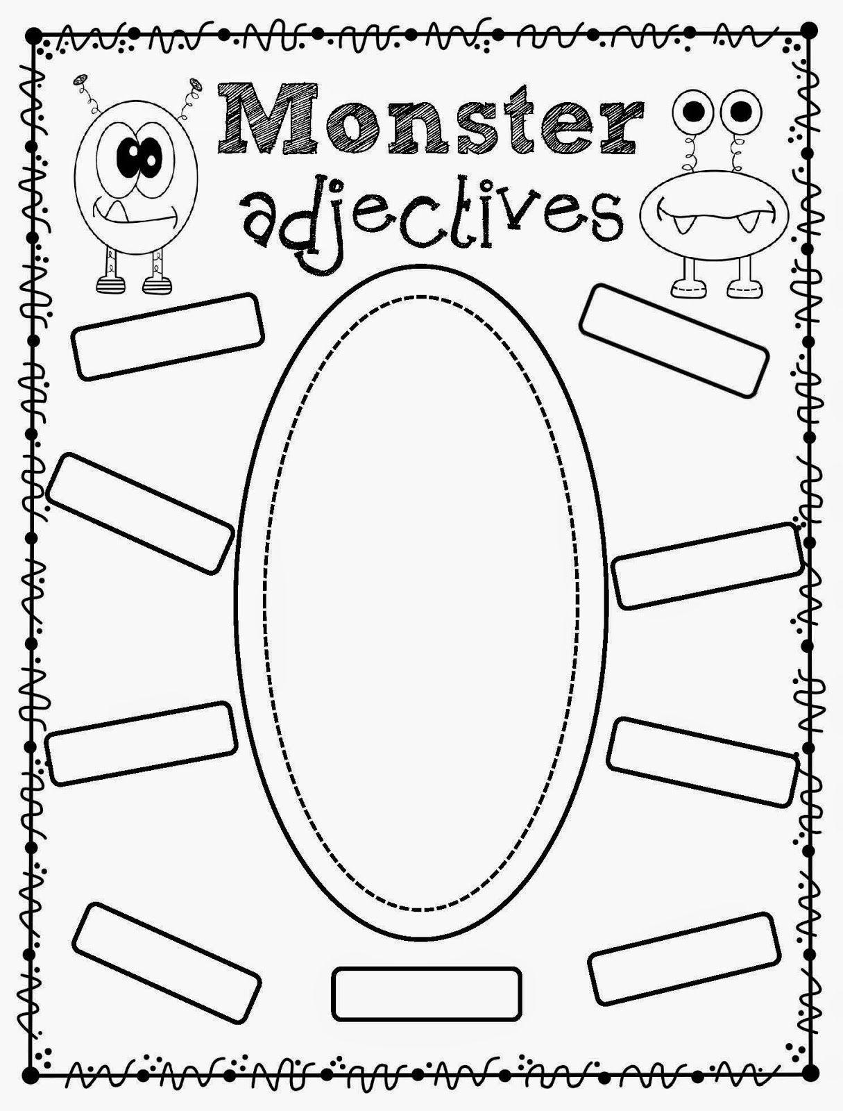 Totally Terrific In Texas Writing Adjectives Activities Grammar Worksheets Preschool Phonics