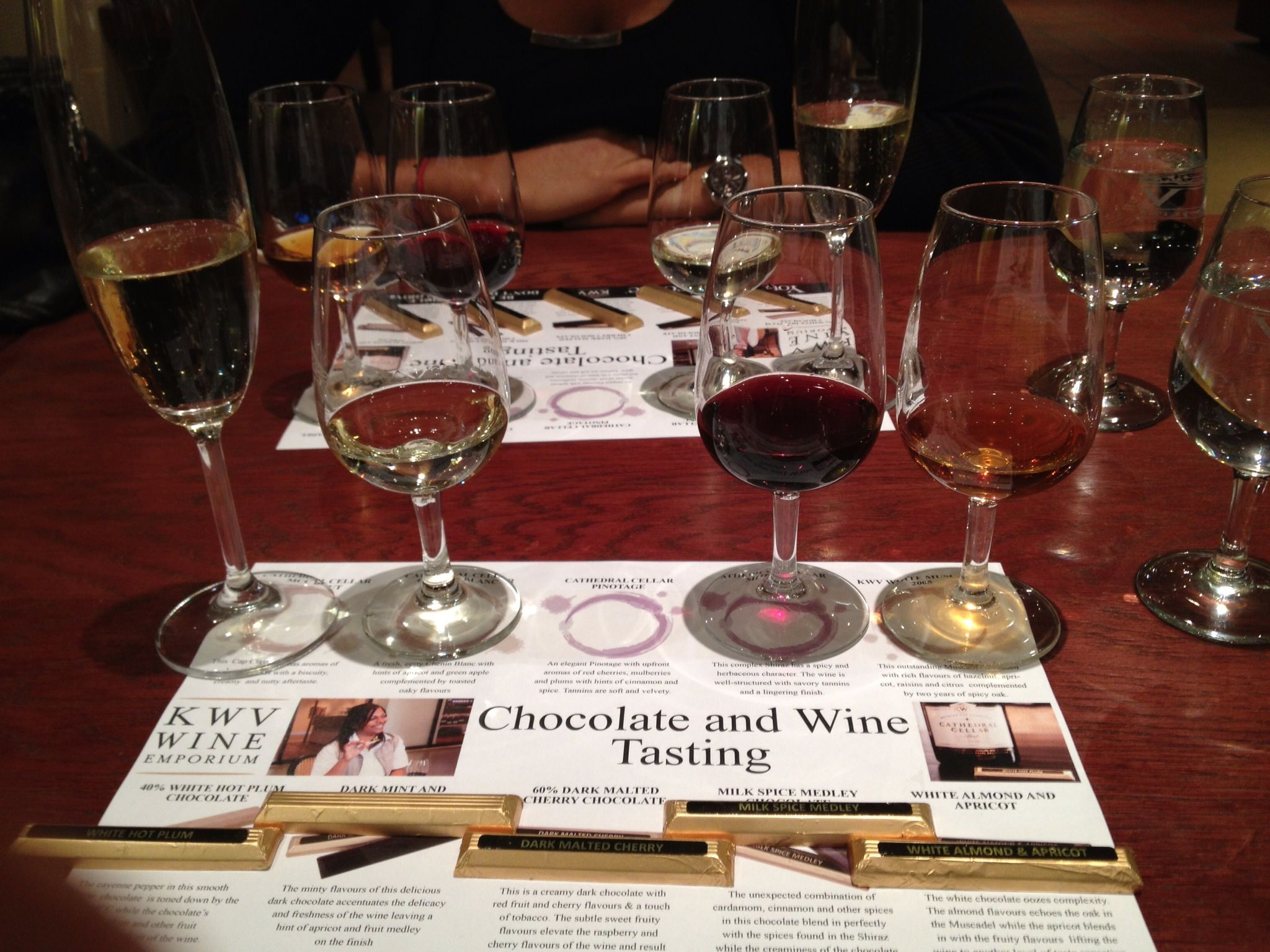 Kwv Paarl South Africa Wine And Chocolate Tasting South Africa Wine Wine Pairing Tasting