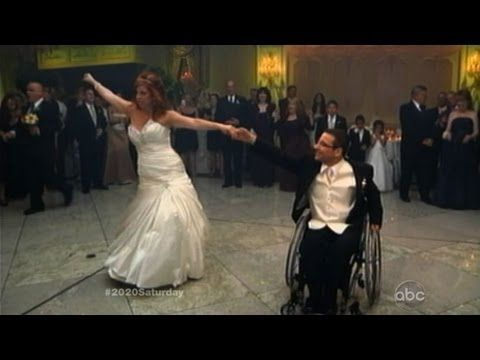 Paraplegic Groom Makes Sure His Wife Has A Special First Dance