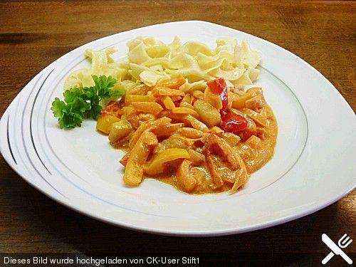 Roros würziges Paprika - Zucchini - Gemüse mit Zwiebeln und Knoblauch, ein gutes Rezept aus der Kategorie Gemüse. Bewertungen: 20. Durchschnitt: Ø 4,3.