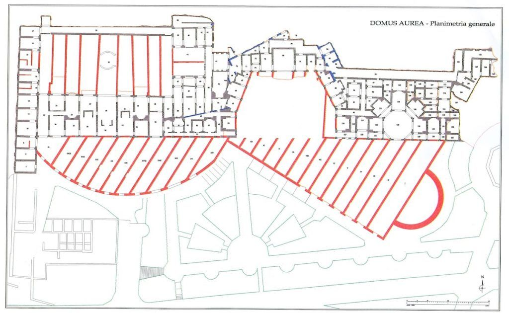 An Extraordinary Visit To The Majestic Remains Of The Domus Aurea Rome Map Ancient Rome History Domus