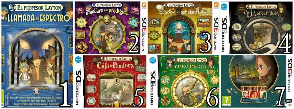 Cronología Orden Jugable Del Profesor Layton Nintendo Amino Profesor Layton Profesor Cronología