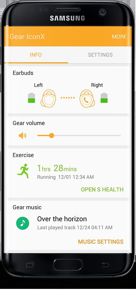 Sincronize o seu IconX com Galaxy S7 edge