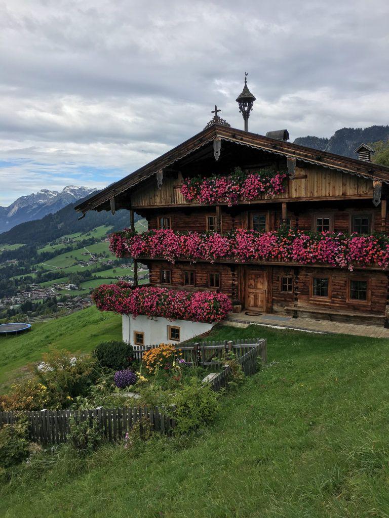 Austrian Alps Farm House Stay Outdoor Travel Adventure Travel Fall Travel
