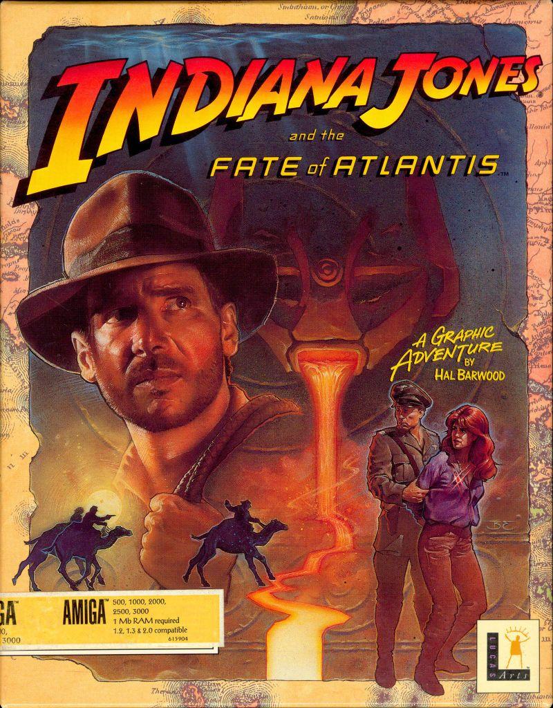 Indiana Jones And The Fate Of Atlantis Lucasarts 1992 Indiana