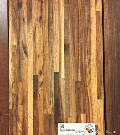 Lumber Liquidators Acacia Butcher Block Counter