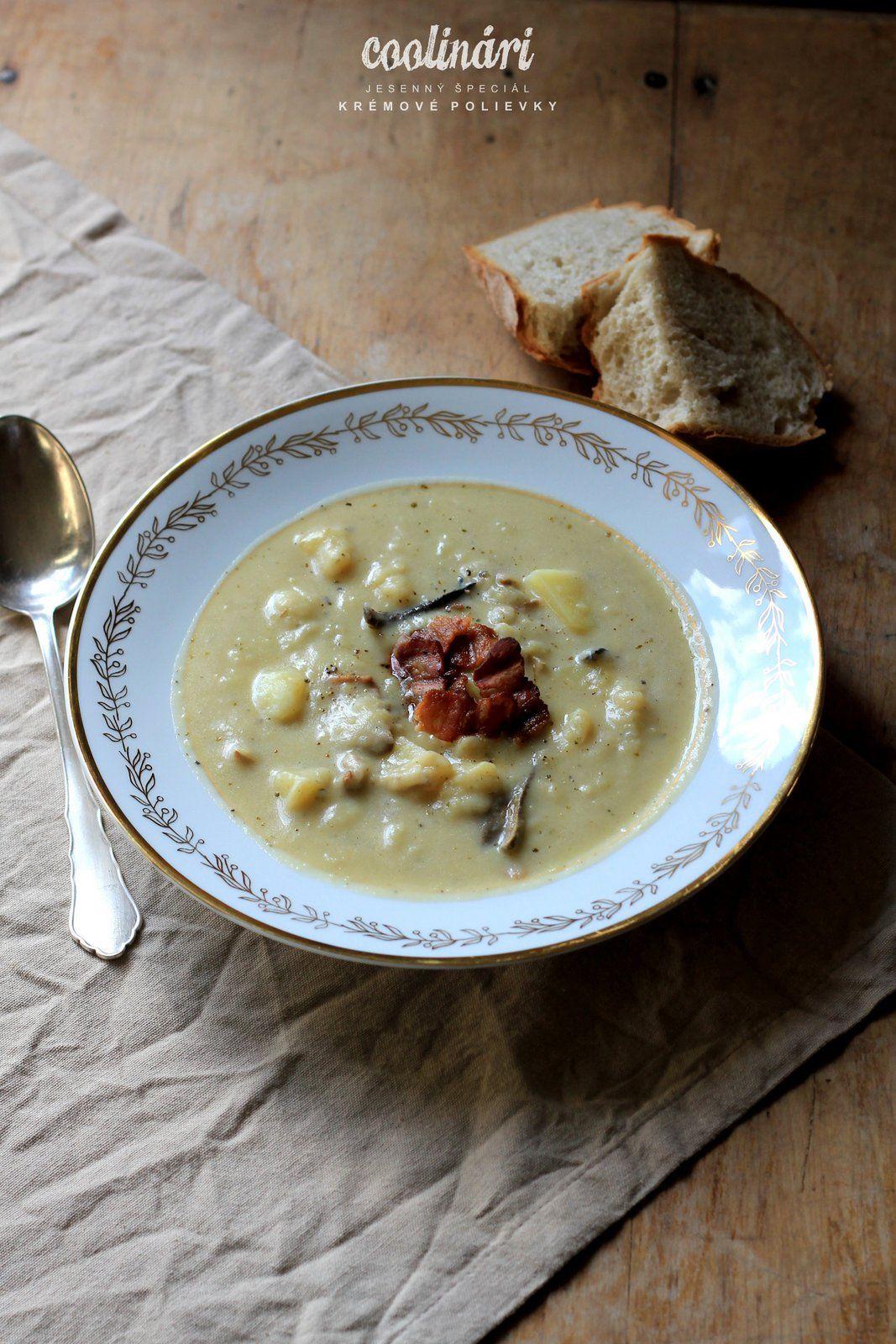 krémová zemiaková polievka tety čenkovej  http://www.coolinari.sk/kremova-zemiakova-polievka/