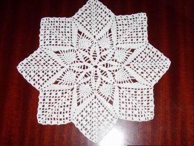 Crochet Pineapple Table Runner Pattern Crochet Pineapple
