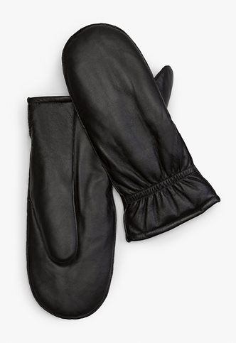 7aface870a0b3 Danier Official Store, MODENA soft leather mittens, black, Women's  Accessories, 135030115
